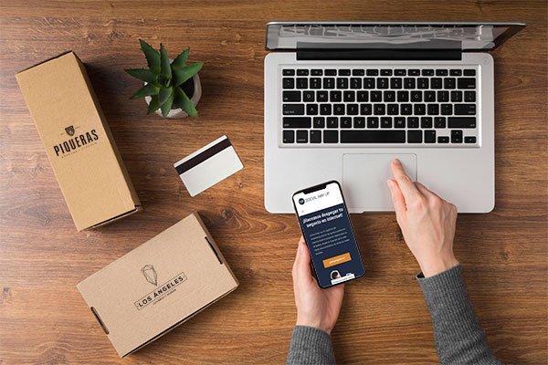 Diseño web tiendas online Social Way Up