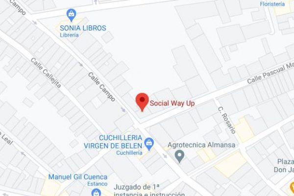 Ubicación social way up Almansa Google Maps